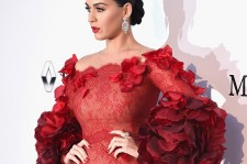 Singer Katy Perry arrives at amfAR's 23rd Cinema Against AIDS Gala at Hotel du Cap-Eden-Roc on May 19, 2016 in Cap d'Antibes, France.