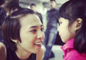 g-dragon past picture with haeum