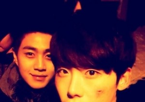 lee jong suk picture with lee kyu hwan