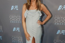 Actress Jennifer Aniston attends the 21st Annual Critics' Choice Awards at Barker Hangar on January 17, 2016 in Santa Monica, California.