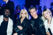 CL and Lucky Blue Smith and will.i.am