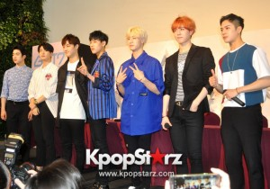 GOT7 Meets The Press And Fans in Singapore [PHOTOS]
