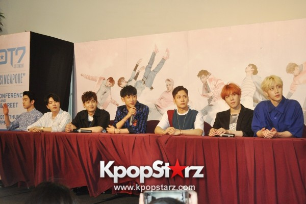 GOT7 Meets The Press And Fans in Singapore [PHOTOS]key=>4 count31