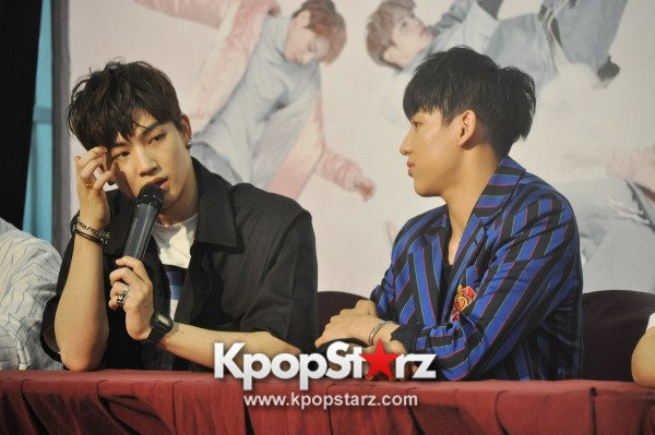 GOT7 Meets The Press And Fans in Singapore [PHOTOS]key=>12 count31
