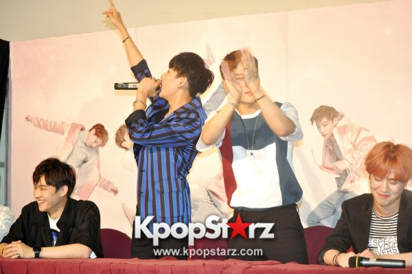 GOT7 Meets The Press And Fans in Singapore [PHOTOS]key=>21 count31