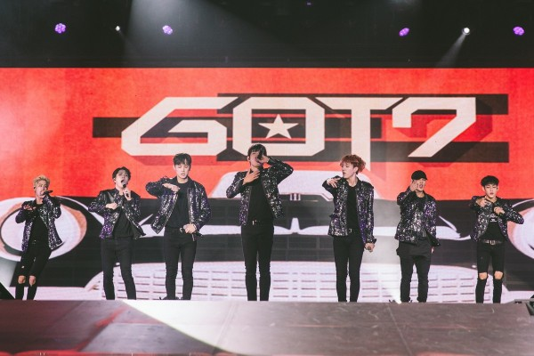 GOT7 Successfully Holds Their First Concert In Singapore [PHOTOS]key=>0 count15