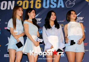 Mamamoo On KCON NY Red Carpet At The Prudential Center - June, 25 2016 [PHOTOS]