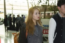 Airport Fashion: Lee Hi Leaving for Golden Disk Awards in Kuala Lumpur, Malaysia