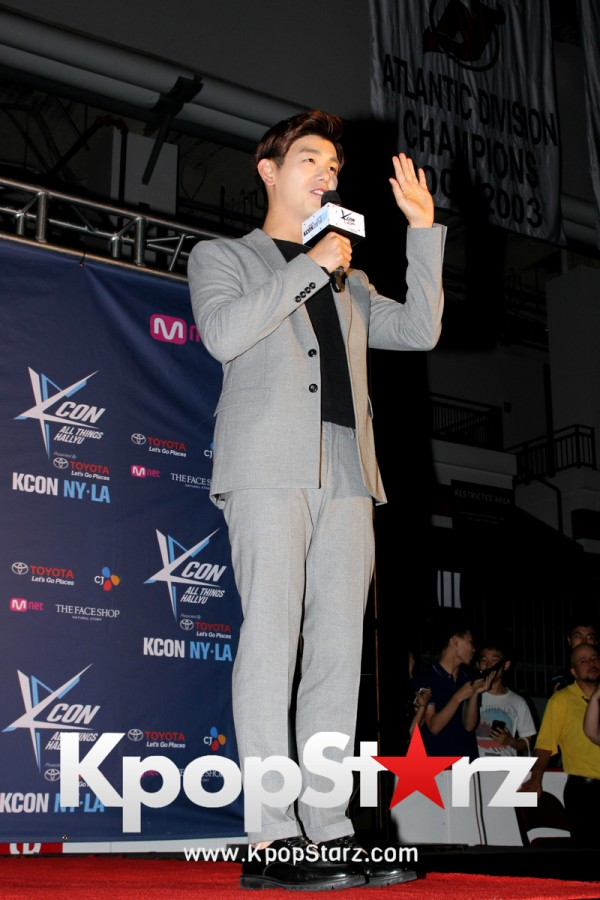 Eric Nam On KCON NY Red Carpet At The Prudential Center - June, 25 2016 [PHOTOS]key=>9 count12