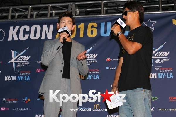 Eric Nam On KCON NY Red Carpet At The Prudential Center - June, 25 2016 [PHOTOS]key=>5 count12