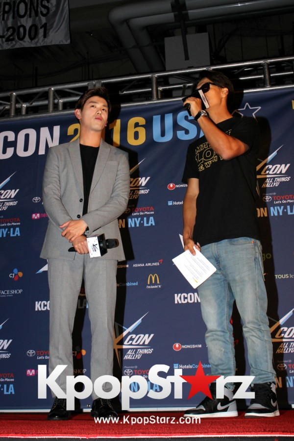Eric Nam On KCON NY Red Carpet At The Prudential Center - June, 25 2016 [PHOTOS]key=>6 count12