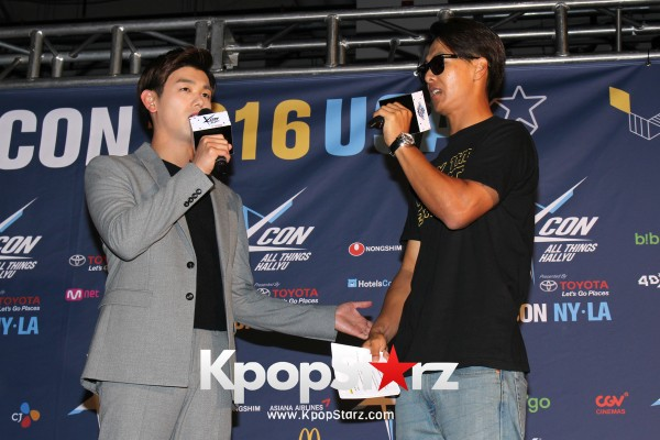 Eric Nam On KCON NY Red Carpet At The Prudential Center - June, 25 2016 [PHOTOS]key=>4 count12