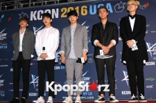Day6 On KCON NY Red Carpet At The Prudential Center - June, 25 2016 [PHOTOS]