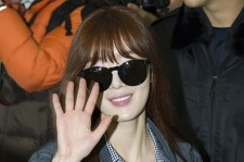Airport Fashion: Secret Leaving for Golden Disk Awards in Kuala Lumpur, Malaysia