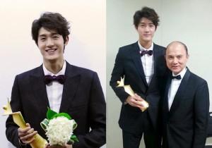 Lee Ki Woo Receives Model Star Award at '2013 Asia Model Festival Awards', 'Praised by Prof. Jimmy Choo'