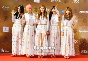 Kpo 27th Golden Disk Awards Red Carpet