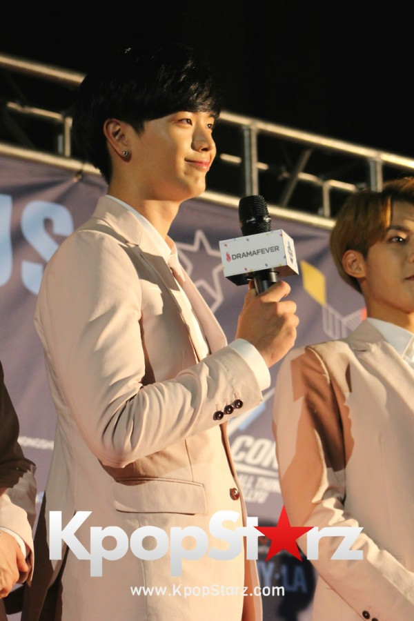 BTOB On KCON NY Red Carpet At The Prudential Center - June, 24 2016key=>24 count36