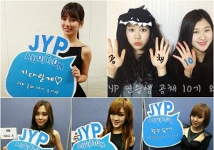 miss a 15& advertises for jyp audition