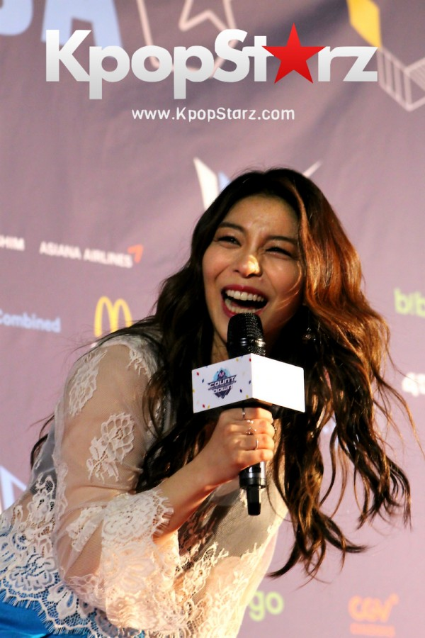 Ailee On KCON NY Red Carpet At The Prudential Center - June, 24 2016key=>11 count25