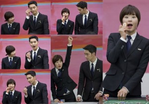 2PM Chansung and Choi Kang Hee's Cute Stills From '7th Level Civil Servant'
