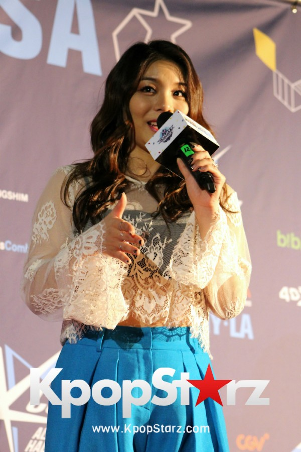 Ailee On KCON NY Red Carpet At The Prudential Center - June, 24 2016key=>14 count25