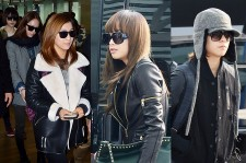 Airport Fashion: f(x) Leaving for Golden Disk Awards in Kuala Lumpur, Malaysia