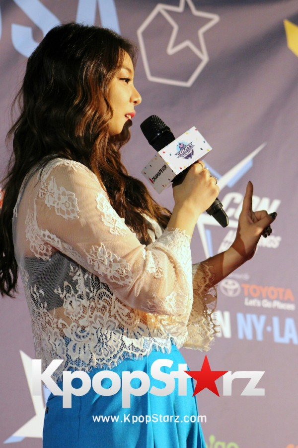 Ailee On KCON NY Red Carpet At The Prudential Center - June, 24 2016key=>16 count25