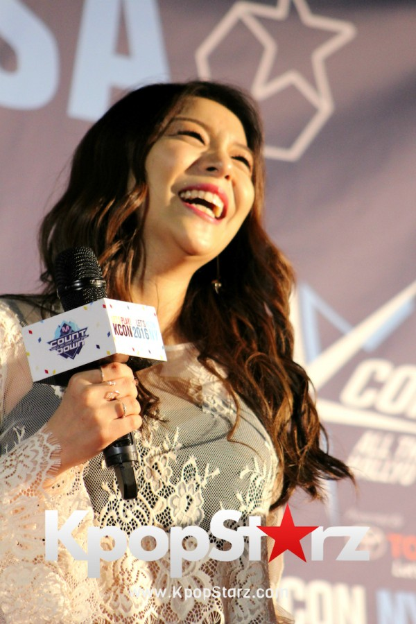 Ailee On KCON NY Red Carpet At The Prudential Center - June, 24 2016key=>17 count25