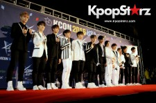 Seventeen On KCON NY Red Carpet At The Prudential Center - June, 24 2016
