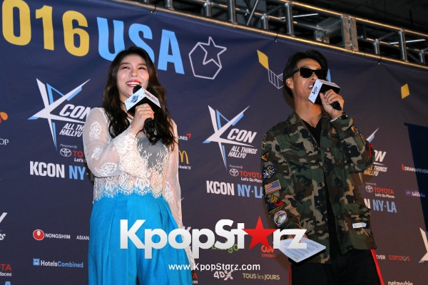 Ailee On KCON NY Red Carpet At The Prudential Center - June, 24 2016 [PHOTOS] key=>24 count25