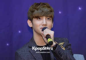 TVXQ's Changmin Excited at 'Moonlight Prince' Press Conference