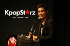 Lee Byung Hun Receives Star Award at 2016 New York Asian Film Festival, July 5, 2016