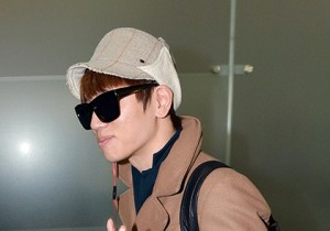 Airport Fashion: Leaving for Golden Disk Awards in Kuala Lumpur, Malaysia: K.Will