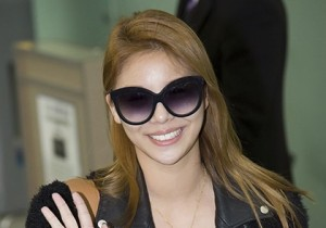 Airport Fashion: Leaving for Golden Disk Awards in Kuala Lumpur, Malaysia: Ailee