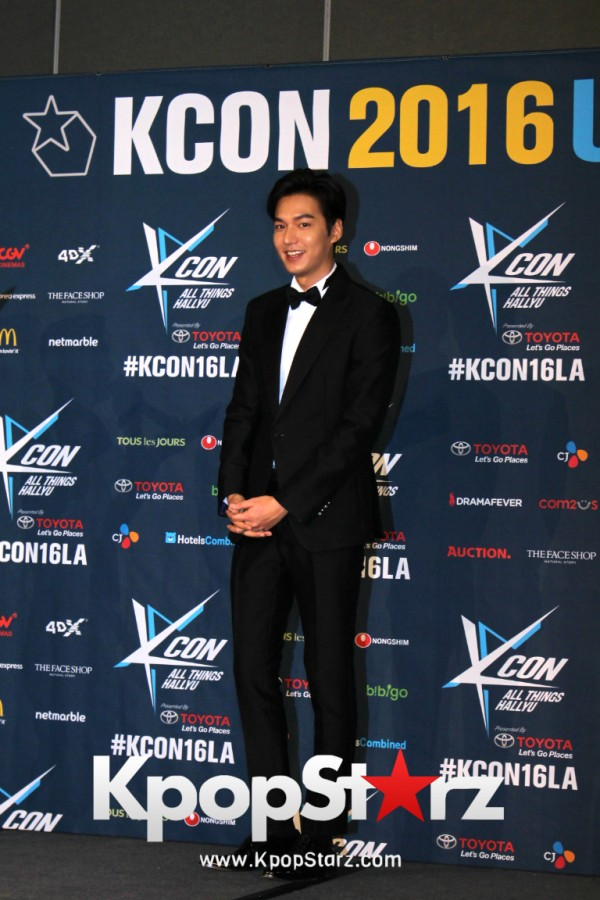 Lee Min Ho On Kcon LA Red Carpet - July, 30th 2016 [PHOTOS]key=>4 count15