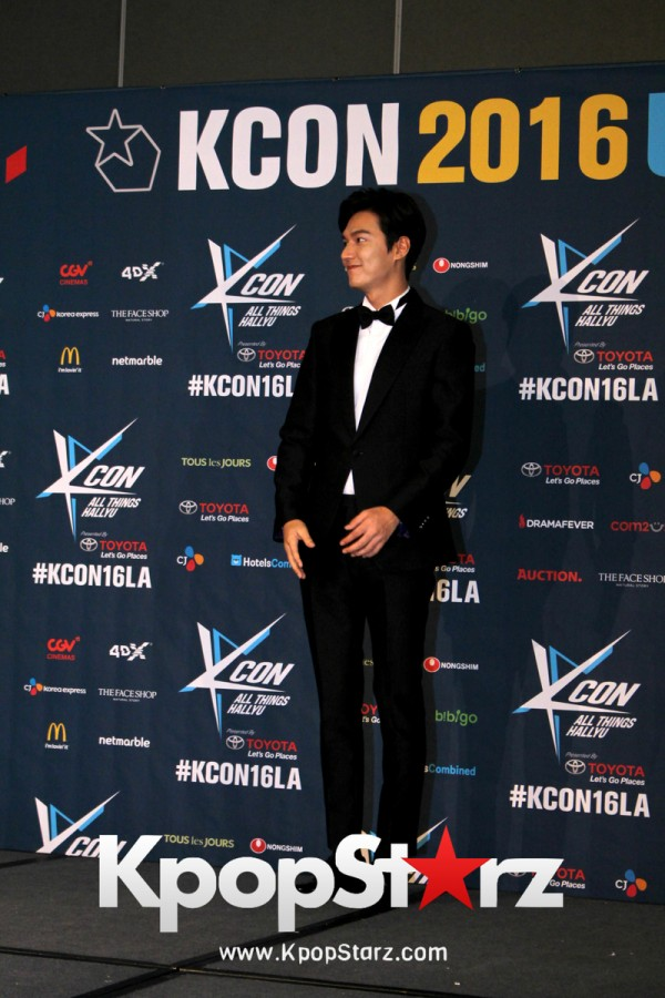 Lee Min Ho On Kcon LA Red Carpet - July, 30th 2016 [PHOTOS]key=>5 count15
