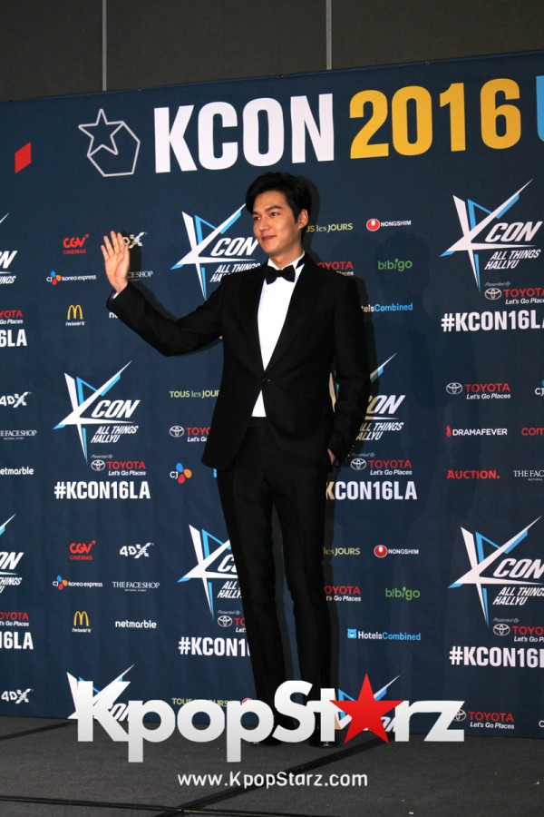 Lee Min Ho On Kcon LA Red Carpet - July, 30th 2016 [PHOTOS]key=>8 count15