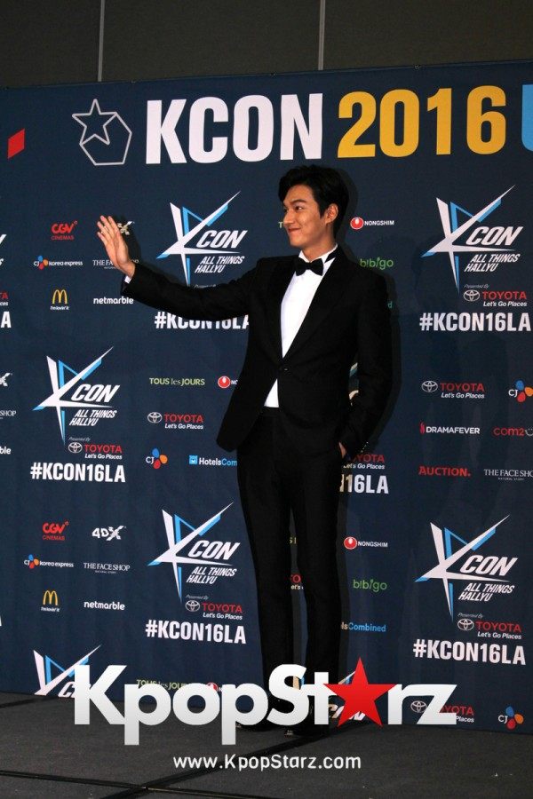 Lee Min Ho On Kcon LA Red Carpet - July, 30th 2016 [PHOTOS]key=>10 count15