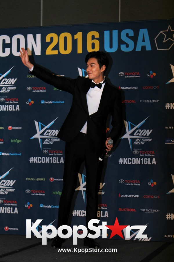 Lee Min Ho On Kcon LA Red Carpet - July, 30th 2016 [PHOTOS]key=>11 count15