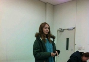 Girls' Generation Yoona is just a Normal College Student, 'Casual in the Classroom'