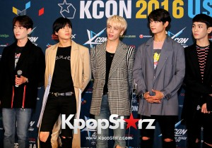 SHINee On Kcon LA Red Carpet - July, 30th 2016 [PHOTOS]