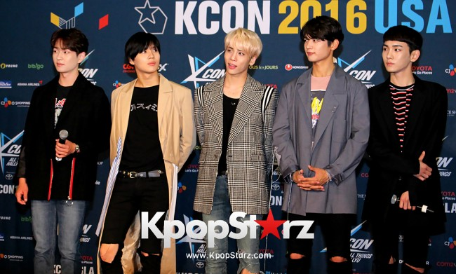 SHINee On Kcon LA Red Carpet - July, 30th 2016 [PHOTOS] key=>0 count55