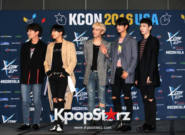SHINee On Kcon LA Red Carpet - July, 30th 2016 [PHOTOS] key=>9 count55