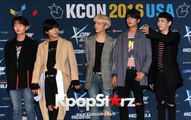 SHINee On Kcon LA Red Carpet - July, 30th 2016 [PHOTOS] key=>10 count55