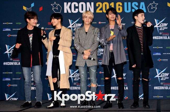 SHINee On Kcon LA Red Carpet - July, 30th 2016 [PHOTOS] key=>6 count55