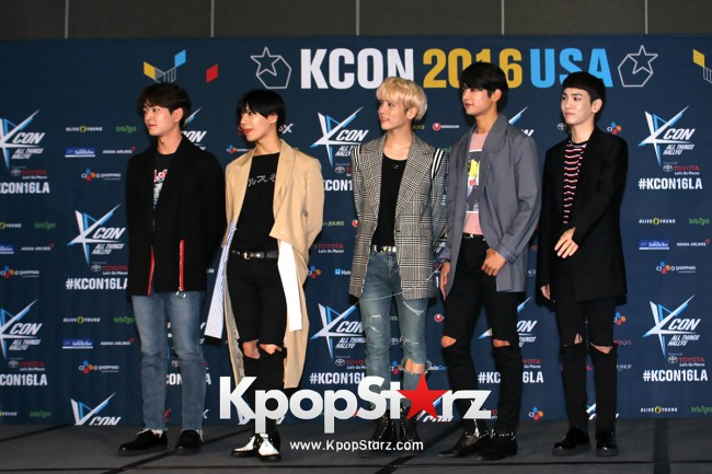 SHINee On Kcon LA Red Carpet - July, 30th 2016 [PHOTOS] key=>16 count55