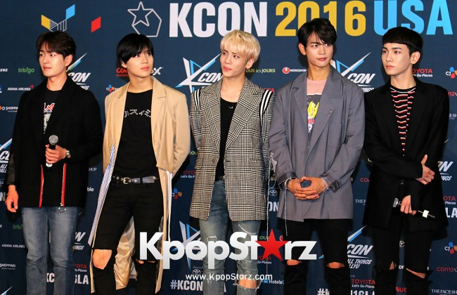 SHINee On Kcon LA Red Carpet - July, 30th 2016 [PHOTOS] key=>22 count55