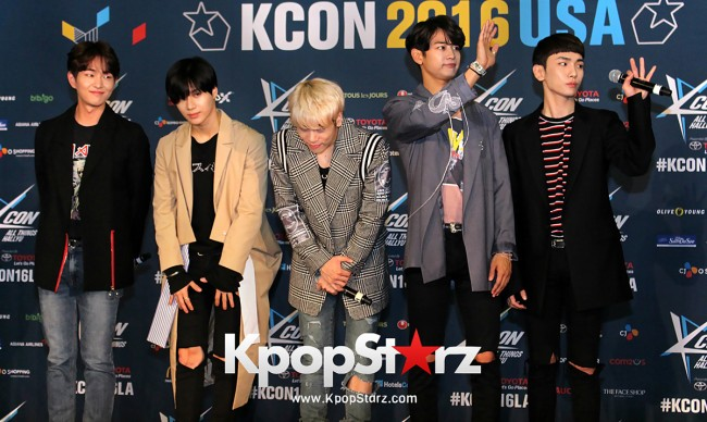 SHINee On Kcon LA Red Carpet - July, 30th 2016 [PHOTOS] key=>23 count55