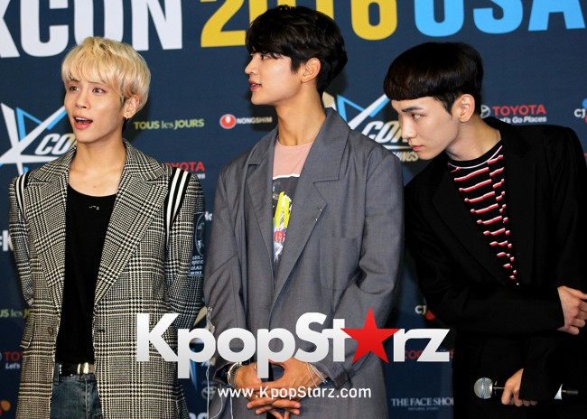 SHINee On Kcon LA Red Carpet - July, 30th 2016 [PHOTOS] key=>41 count55