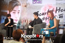 Charming Kang Ha Neul Melted The Hearts Of Many At The Press Conference In Singapore [PHOTOS]